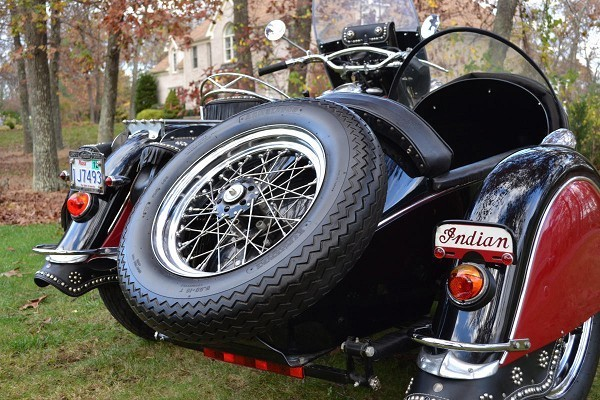 1950 Indian Chief for Sale with Sidecar - Listing # 32146